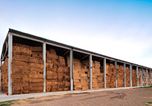 Warehouse for forages